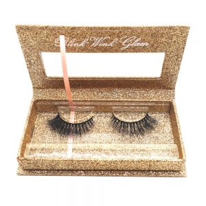 Factory Price Natural Dolly Eye 3D Mink Eyelashes