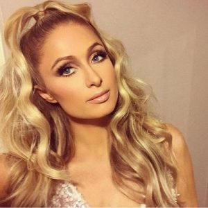 Paris Hilton Dior wearing Mink Lashes