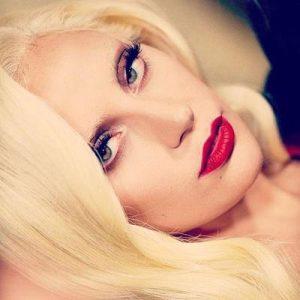 Lady Gaga wearing Dior Mink Lashes
