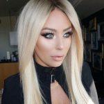 Aubrey Oday wearing Dior Mink Lashes