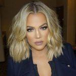 Khloe Kardashian wearing Dior Mink Lashes