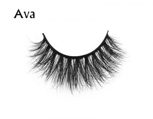 factory direct price clear brand 3d real mink eyelashes faux eyelash