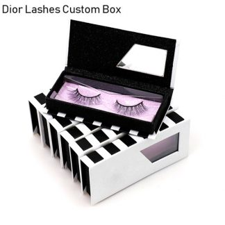 Mink Lashes Custom Package Private Label DL003