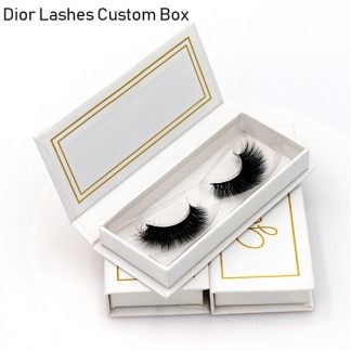 Mink Lashes Custom Package Private Label DL008