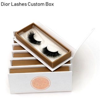 Mink Lashes Custom Package Private Label DL009