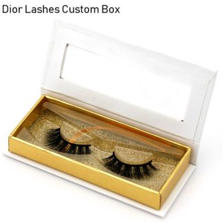Mink Lashes Custom Package Private Label DL013
