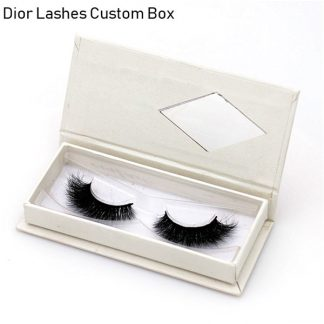 Mink Lashes Custom Package Private Label DL014