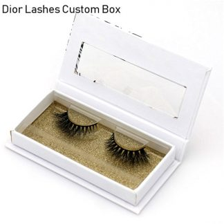 Mink Lashes Custom Package Private Label DL015