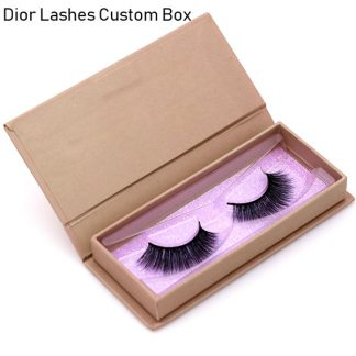 Mink Lashes Custom Package Private Label DL016