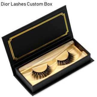 Mink Lashes Custom Package Private Label DL017