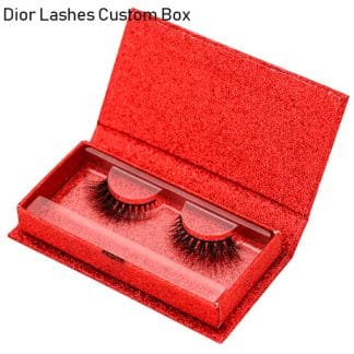 Mink Lashes Custom Package Private Label DL019