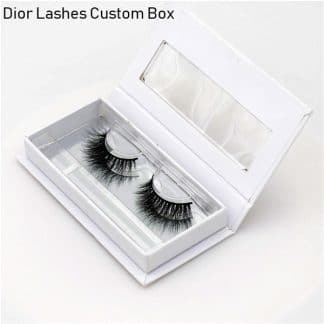 Mink Lashes Custom Package Private Label DL021