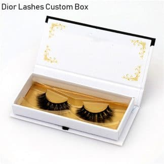 Mink Lashes Custom Package Private Label DL023