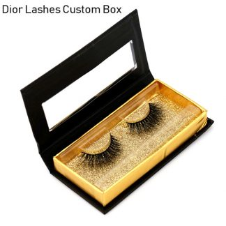 Mink Lashes Custom Package Private Label DL024