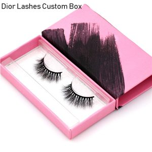 Mink Lashes Custom Package Private Label DL026
