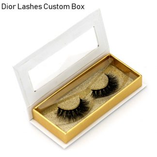 Mink Lashes Custom Package Private Label DL027