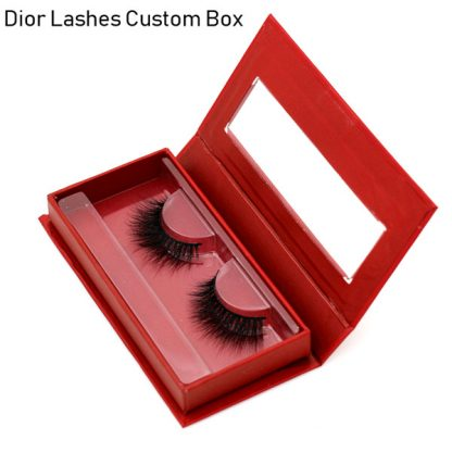Mink Lashes Custom Package Private Label DL029