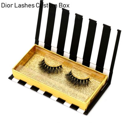 Mink Lashes Custom Package Private Label DL030