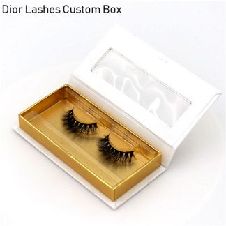 Mink Lashes Custom Package Private Label DL031