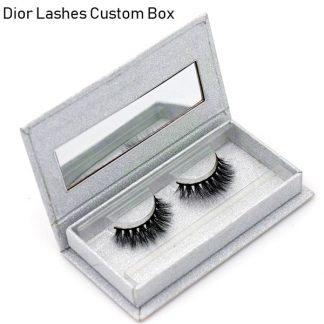 Mink Lashes Custom Package Private Label DL032