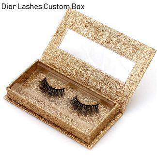Mink Lashes Custom Package Private Label DL033