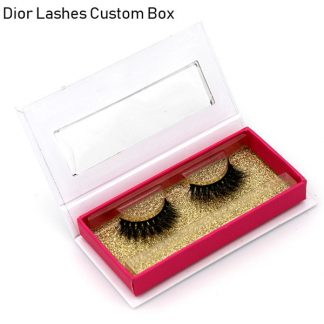 Mink Lashes Custom Package Private Label DL034