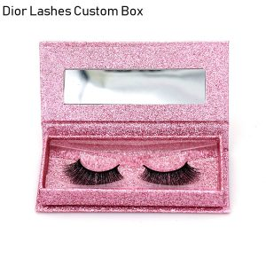 Mink Lashes Custom Package Private Label DL036
