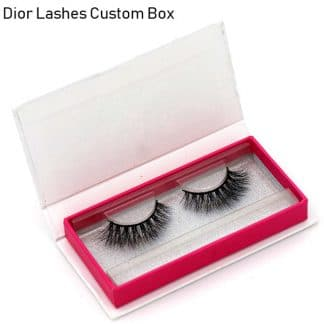 Mink Lashes Custom Package Private Label DL037