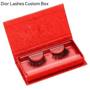 Mink Lashes Custom Package Private LabelDL037