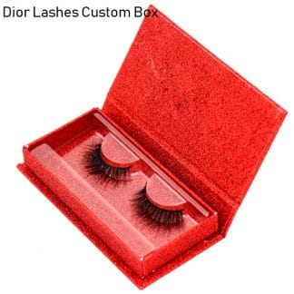 Mink Lashes Custom Package Private Label DL038
