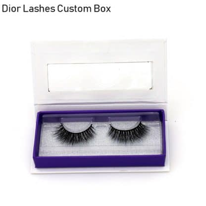 Mink Lashes Custom Package Private Label DL039