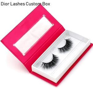 Mink Lashes Custom Package Private LabelDL042