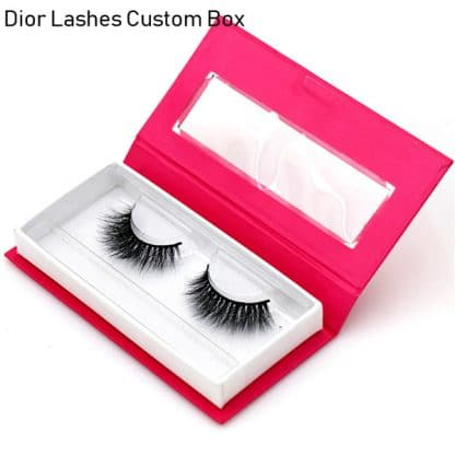 Mink Lashes Custom Package Private Label DL042