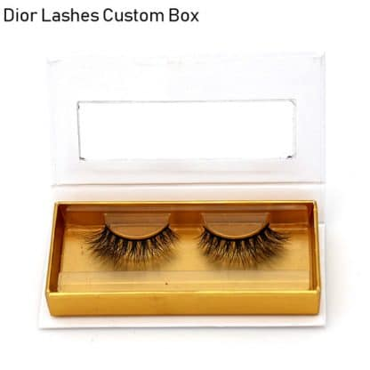 Mink Lashes Custom Package Private Label DL043