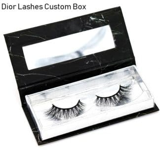Mink Lashes Custom Package Private Label DL044