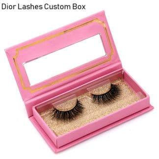 Mink Lashes Custom Package Private Label DL045