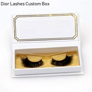 Mink Lashes Custom Package Private Label DL046