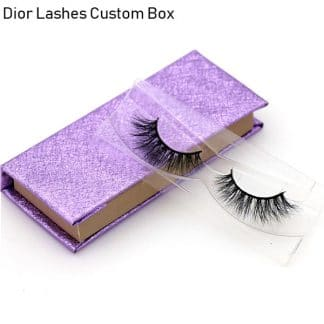 Mink Lashes Custom Package Private Label DL047