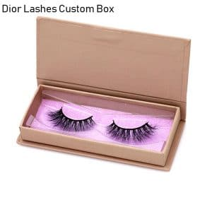 Mink Lashes Custom Package Private LabelDL048