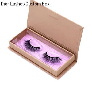 Mink Lashes Custom Package Private Label DL048