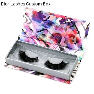 Mink Lashes Custom Package Private LabelDL049