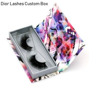 Mink Lashes Custom Package Private Label DL049