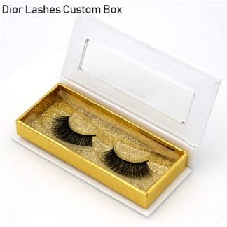 Mink Lashes Custom Package Private Label DL052