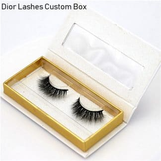 Mink Lashes Custom Package Private Label DL053