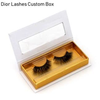 Mink Lashes Custom Package Private Label DL054