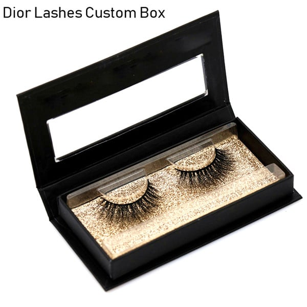 Mink Lashes Custom Package Private Label DL055