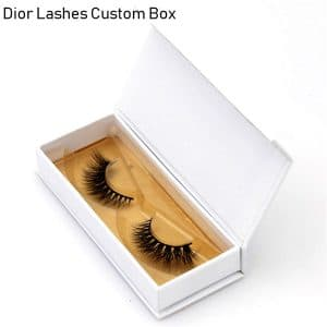 Mink Lashes Custom Package Private Label DL056