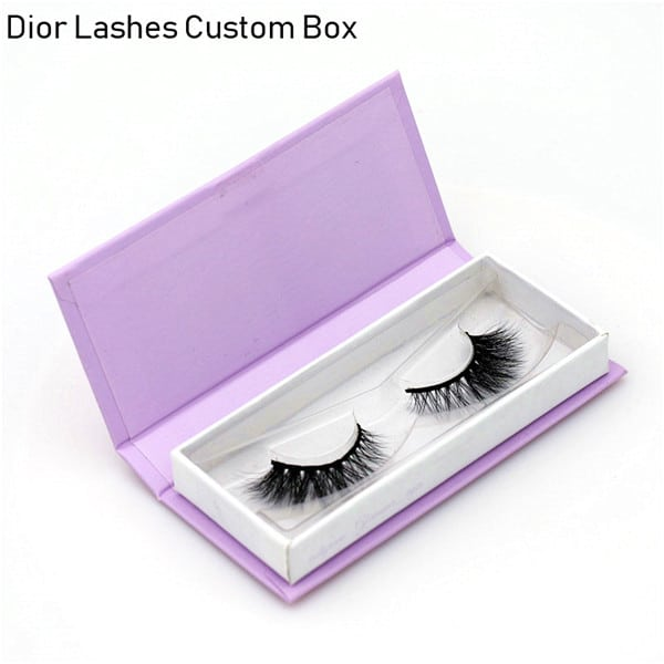 Mink Lashes Custom Package Private Label DL057