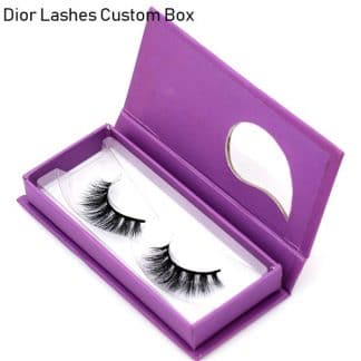 Mink Lashes Custom Package Private Label DL058