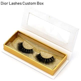 Mink Lashes Custom Package Private Label DL059